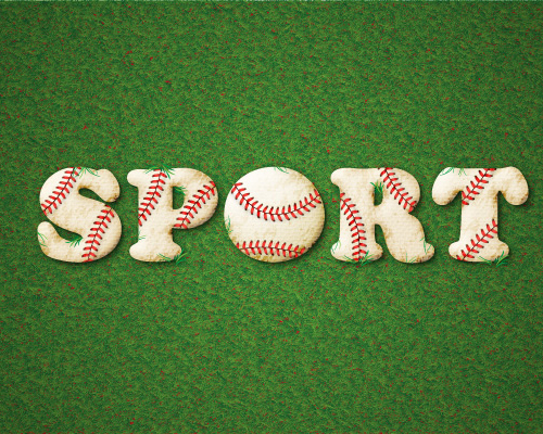 Create a Baseball-Inspired Text Effect in Adobe Illustrator