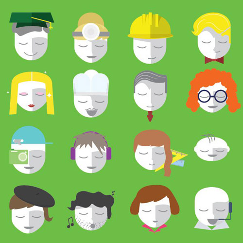 People Vector Graphic