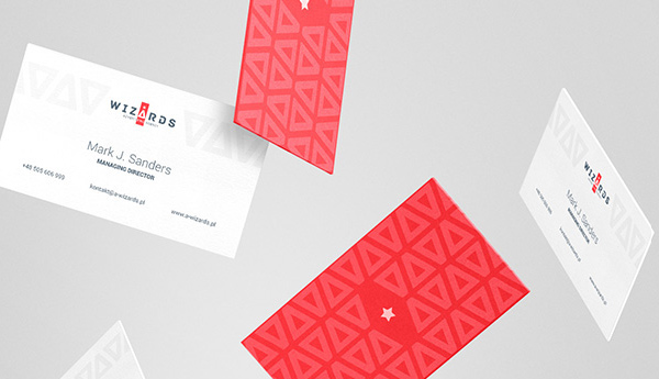 Wizards Agency - Branding Business Card