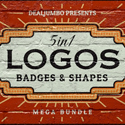 Post Thumbnail of 500+ Highest Quality Logo, Badge Templates & Vector Shapes for Designers