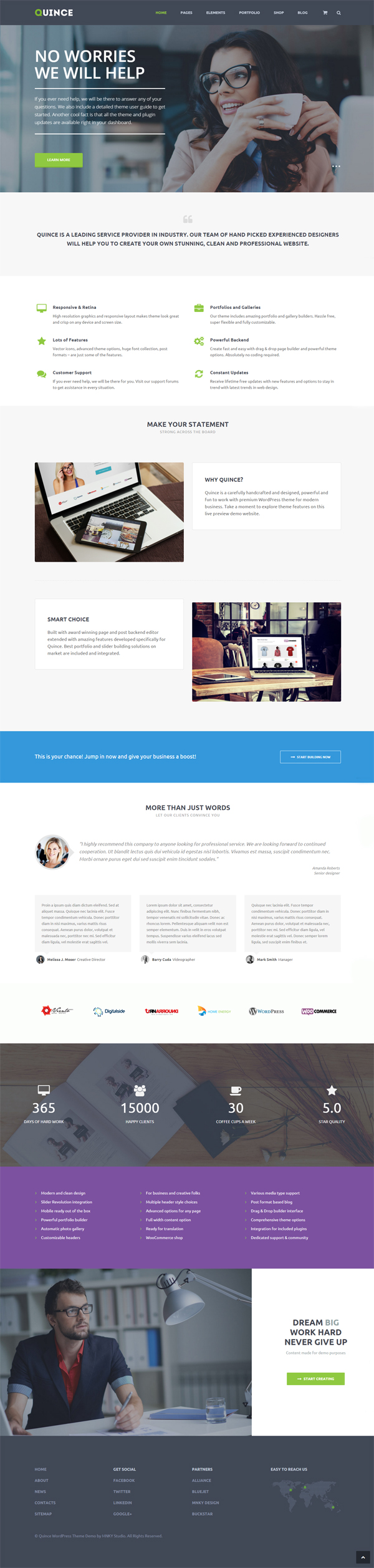 Quince - Modern Business Theme
