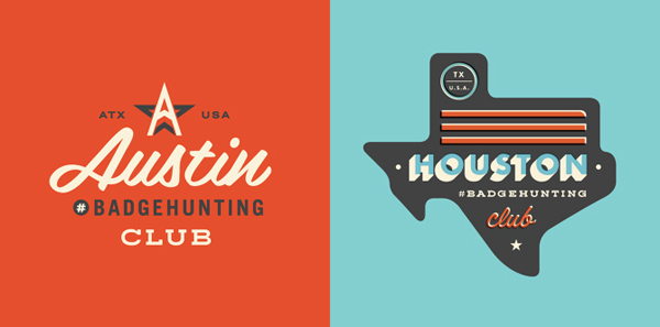 50+ Creative Designs of Badges and Logos - 13