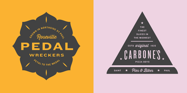 50+ Creative Designs of Badges and Logos - 23