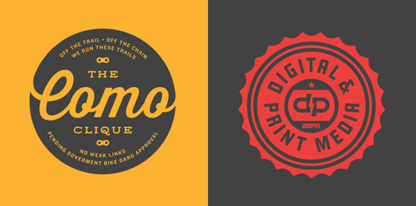 50+ Creative Designs of Badges and Logos - 26