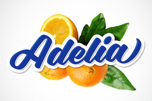 Adelia is a unique script that's bold, playful, and smooth.