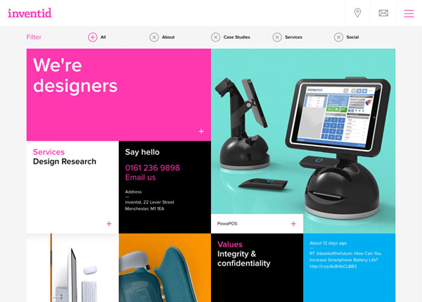 Flat Websites Design - 25 New Web Examples - 10