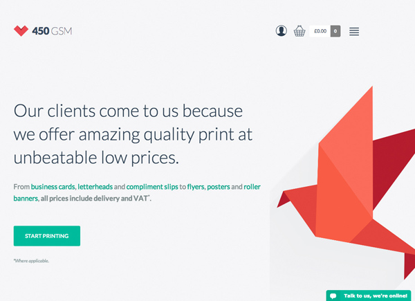 Flat Websites Design - 25 New Web Examples - 7