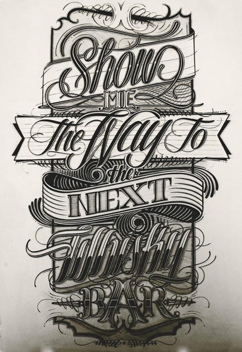 Lettering in Graphic Design - 15