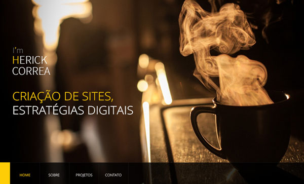 One Page Websites - 30 Inspiring Examples - 30