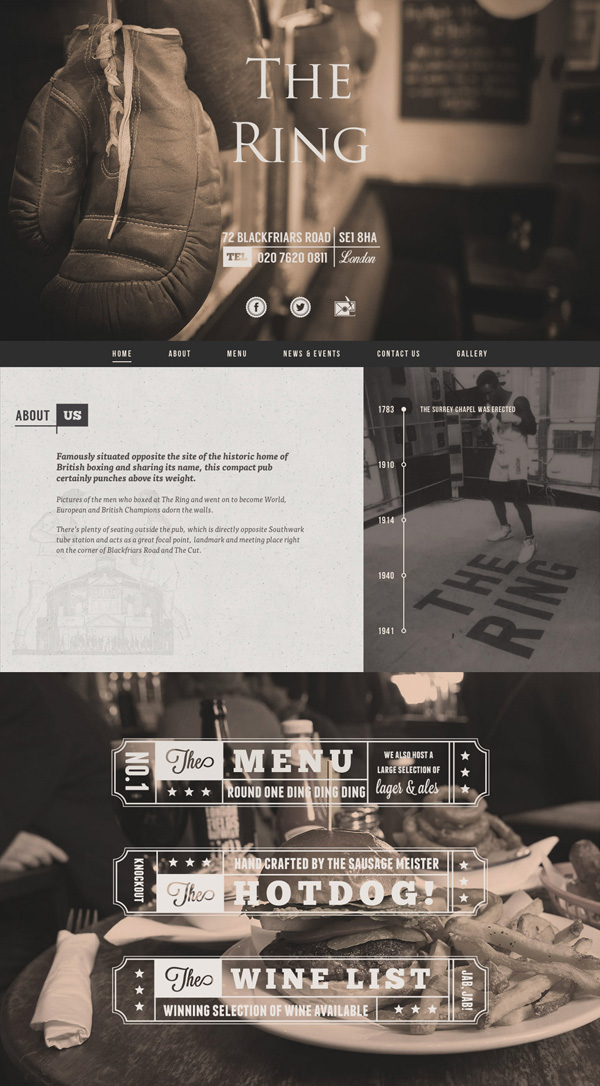 One Page Websites - 30 Inspiring Examples - 5