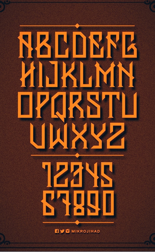 Banten Free Font for Hipsters