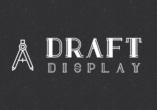 Draft Display Free Font for Hipsters