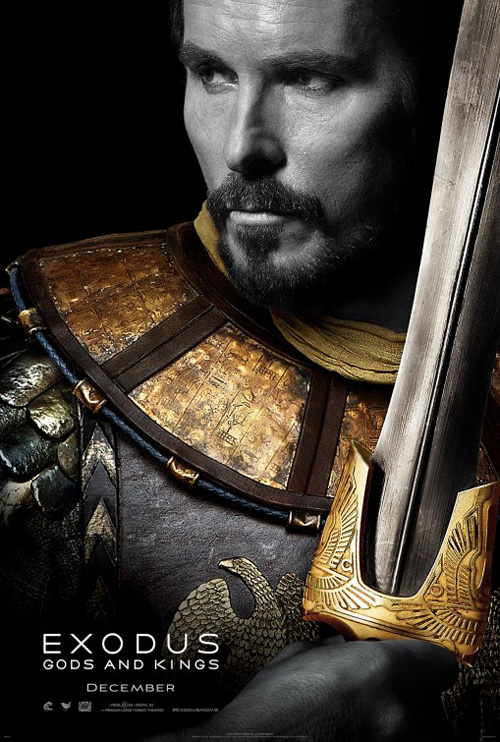 Exodus: Gods and Kings Movie Poster