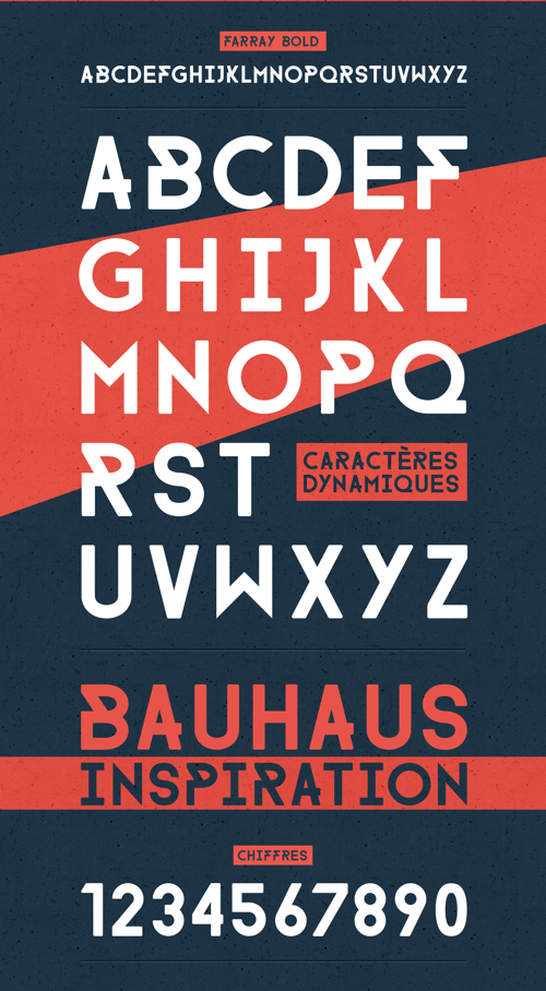 FARRAY Free Font for Hipsters