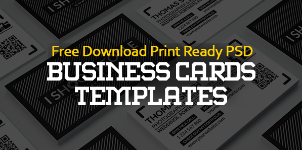 25 Free Business Cards PSD Templates – Print Ready Design