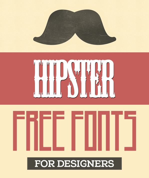 30 Free Fonts for Hipsters