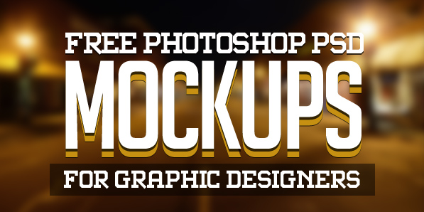New Free Photoshop PSD Mockups for Designers (25 MockUps)