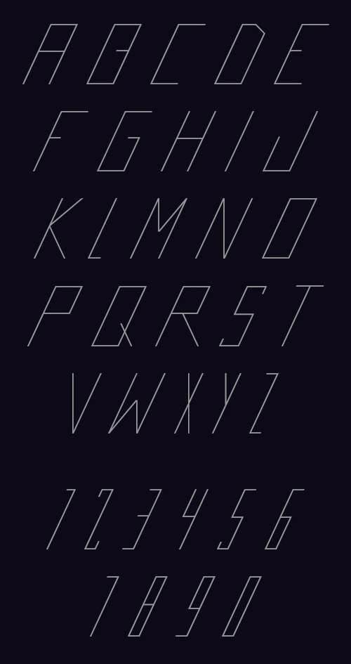 Futrista Free Font for Hipsters