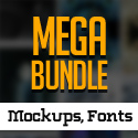 Post thumbnail of 600+ Amazing Mockups, Logos, Badges, Fonts & Vector Graphics for Designers