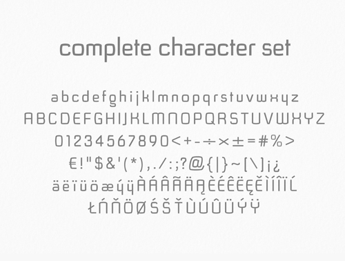 Kayno Font Letters