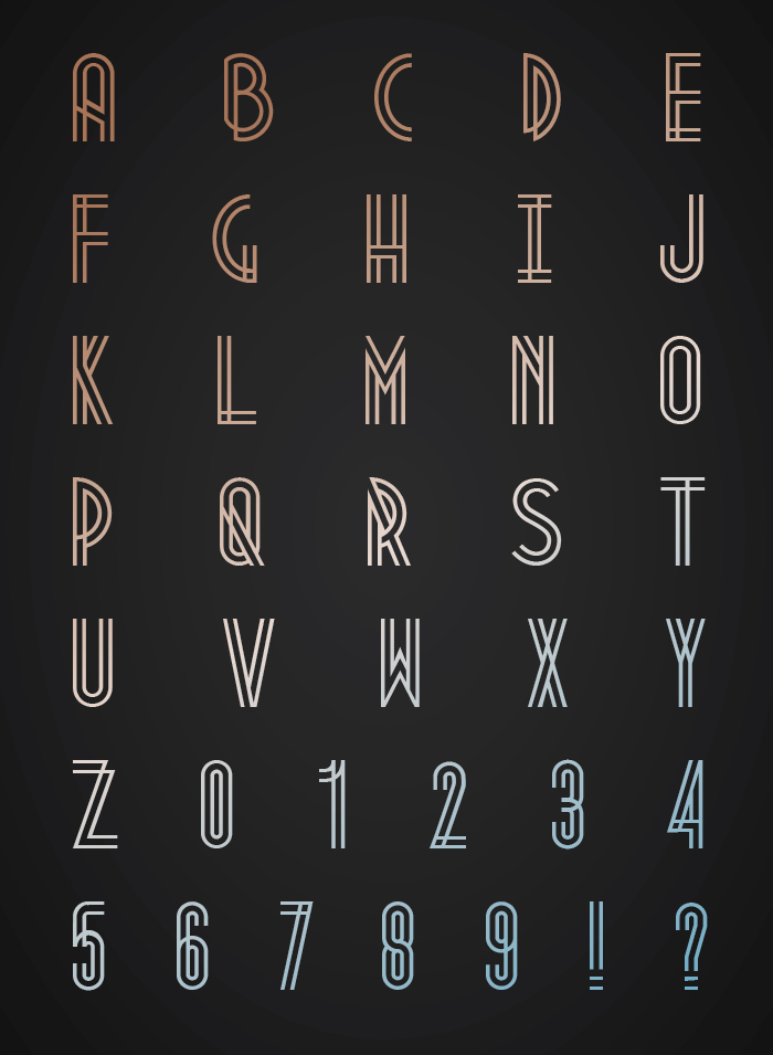 Metropolis Free Font for Hipsters