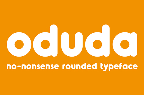 Oduda Rounded Free Font