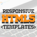 Post Thumbnail of New Responsive HTML5 / CSS3 Website Templates
