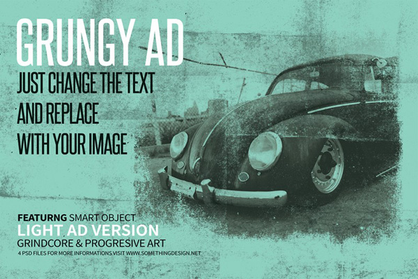 Grungy Posters & Ads