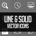 Post Thumbnail of 250+ Free Vector Icons for Designers