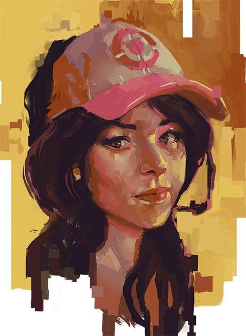25 Amazing Digital Illustrations by Professional Artists & Designers - 21