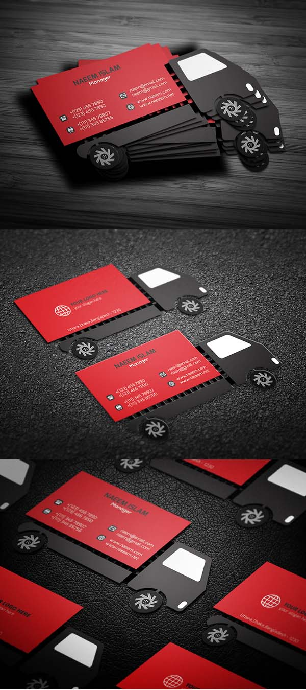 36 Modern Business Cards Examples for Inspiration - 1