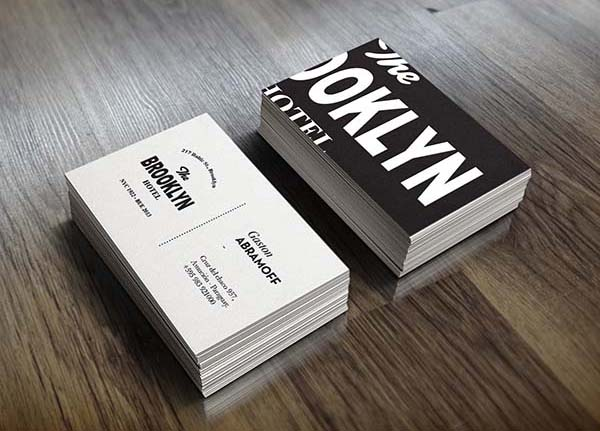 36 Modern Business Cards Examples for Inspiration - 9
