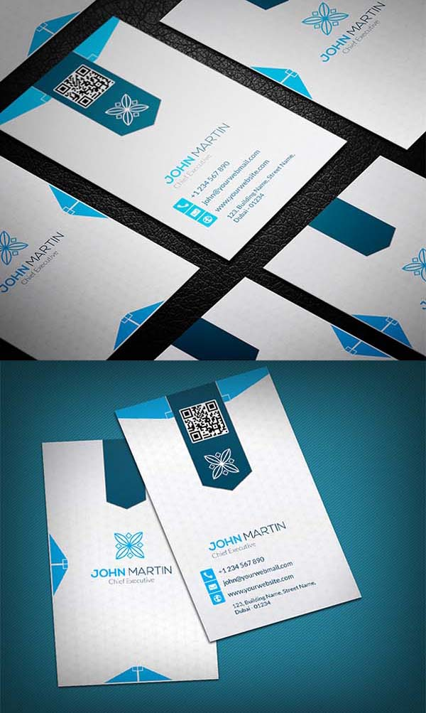 36 Modern Business Cards Examples for Inspiration - 10