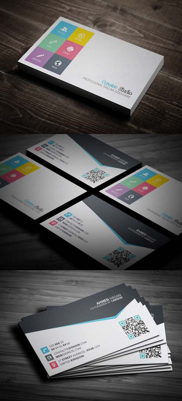 36 Modern Business Cards Examples for Inspiration - 15