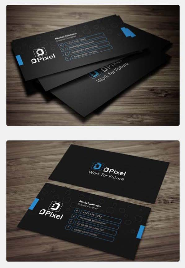 36 Modern Business Cards Examples for Inspiration - 18