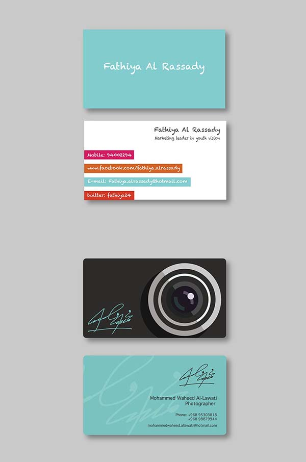 36 Modern Business Cards Examples for Inspiration - 21