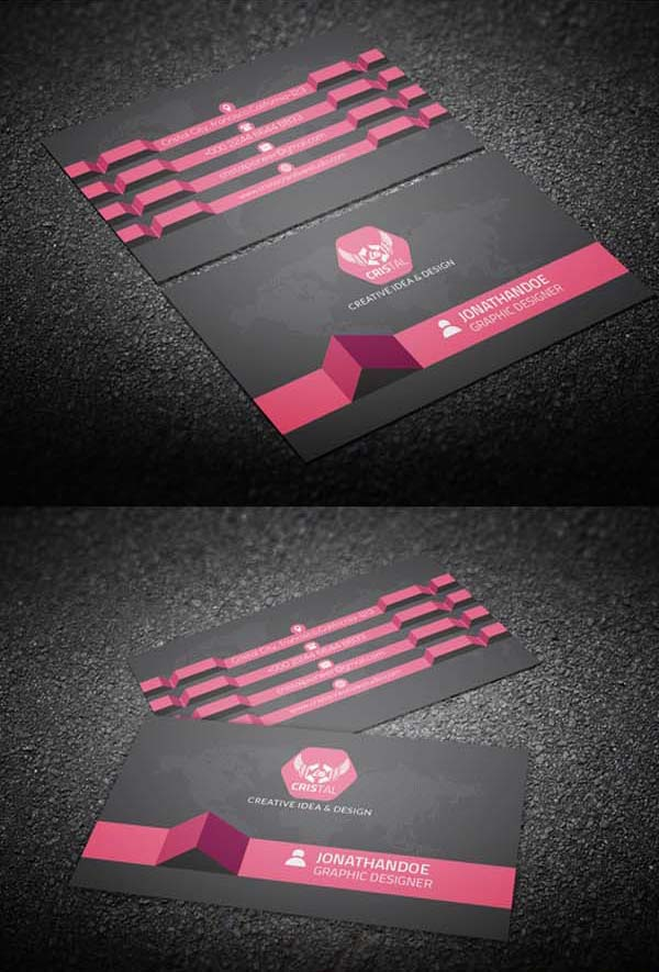 36 Modern Business Cards Examples for Inspiration - 22