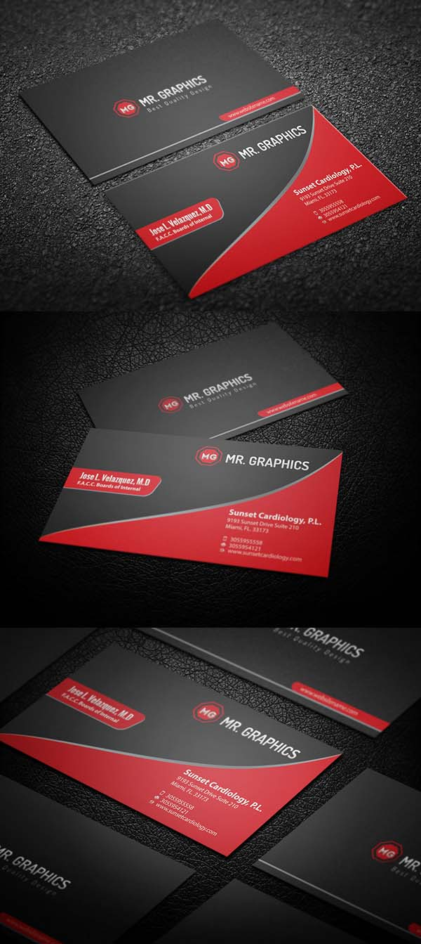 36 Modern Business Cards Examples for Inspiration - 23