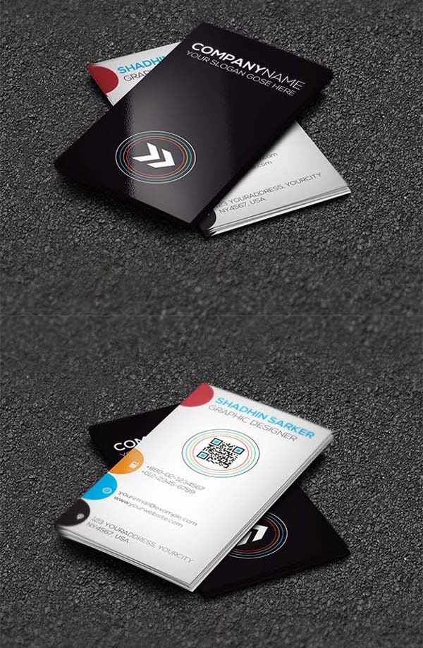 36 Modern Business Cards Examples for Inspiration - 27