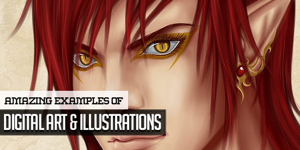 30 Amazing Examples of Digital Art and Illustrations