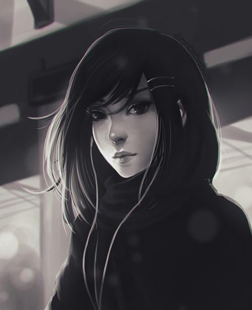 Stunning Portrait Painting by Sonellion