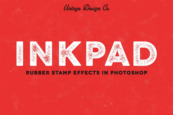 InkPad – Rubber Stamp Effects