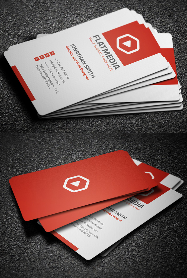 Business Cards Design: 50+ Amazing Examples to Inspire You - 23