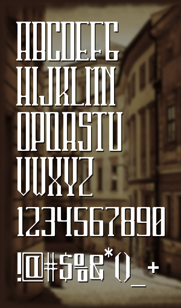 40 Free Hipster fonts - 1