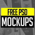 Post Thumbnail of New Free Photoshop PSD Mockups for Designers (26+ MockUps)
