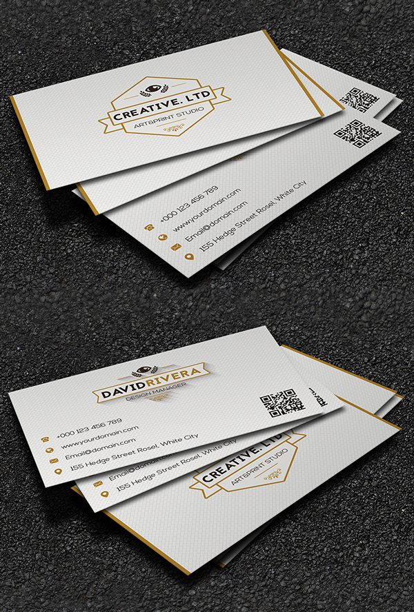 Business Cards Design: 50+ Amazing Examples to Inspire You - 20