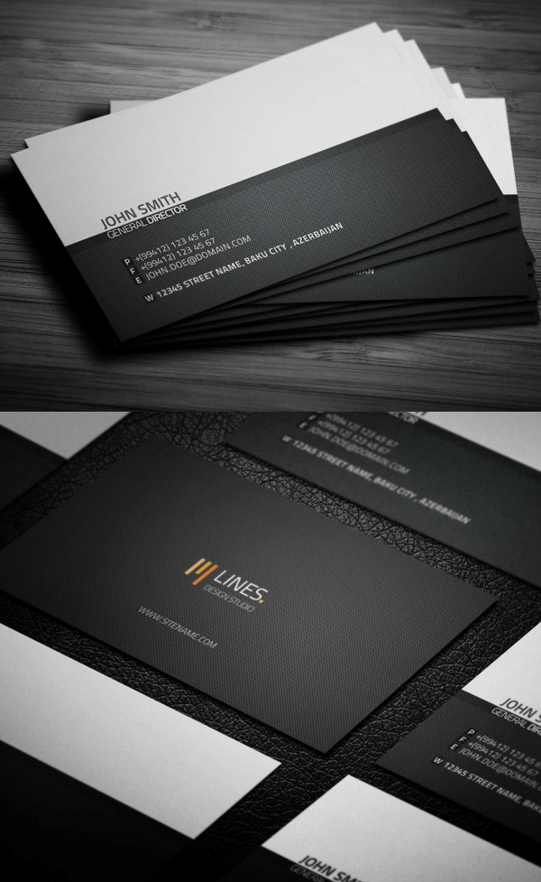 Business Cards Design: 50+ Amazing Examples to Inspire You - 32