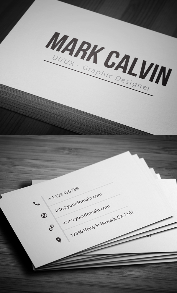 Business Cards Design: 50+ Amazing Examples to Inspire You - 31