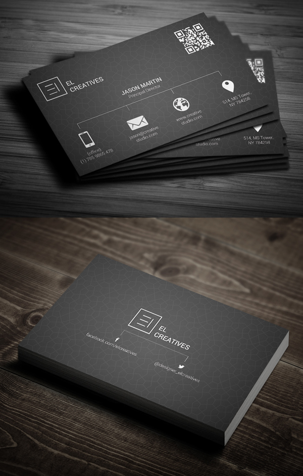 Business Cards Design: 50+ Amazing Examples to Inspire You - 40
