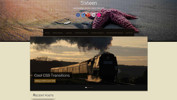 Sixteeen free WordPress themes